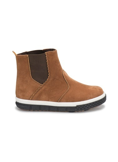 Yellow Kids Sneakers Camel